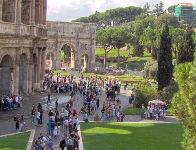 As grandes atrações turísticas da Itália