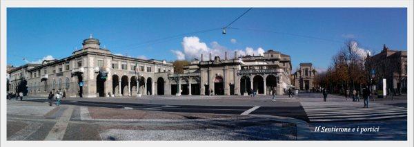 Sentierone em Bergamo