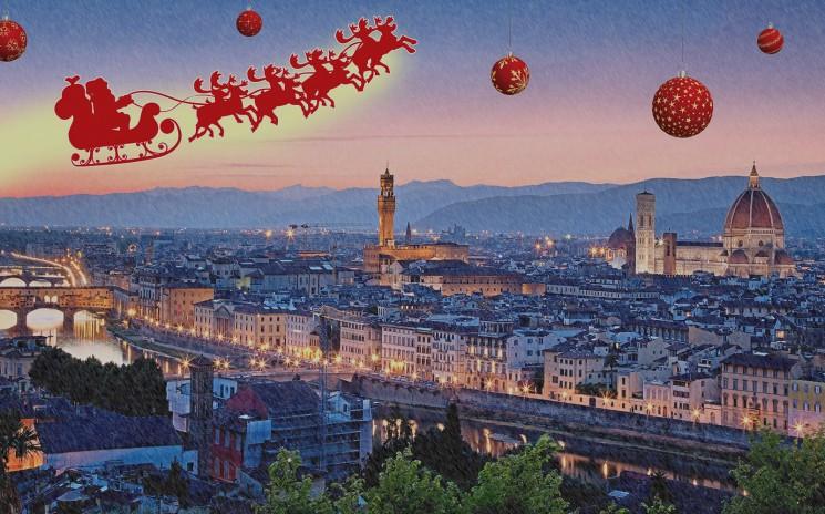 Imagem de promoção do Natale in Fortezza que acontece em Florença