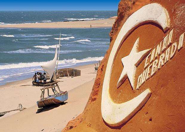 Símbolo da praia de Canoa Quebrada