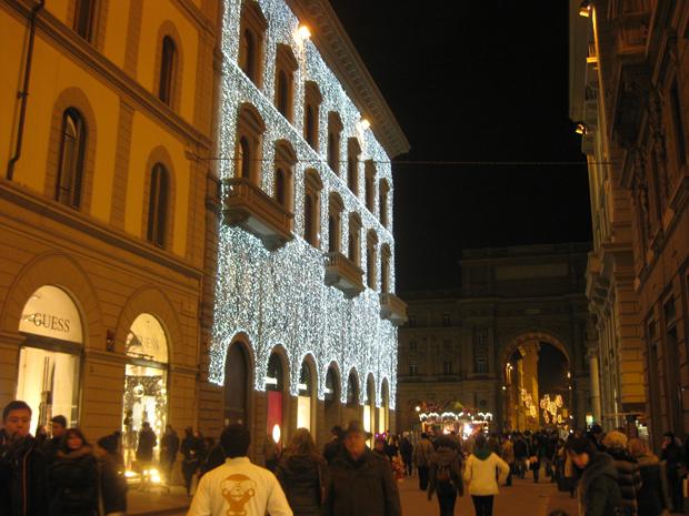 Férias de natal em Florença