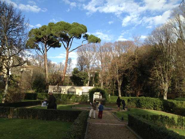 O Giardino della Gherardesca é um privilégio dos hóspedes e clientes do Four Seasons de Florença
