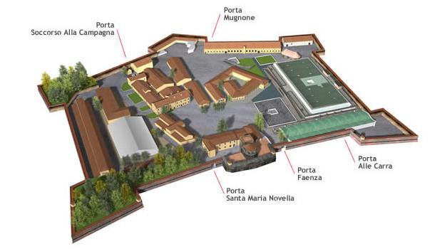 A Fortezza da Basso de Florença