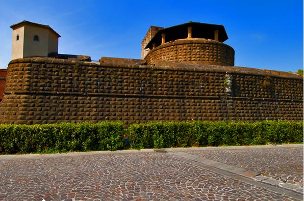 A Fortezza da Basso vista de fora
