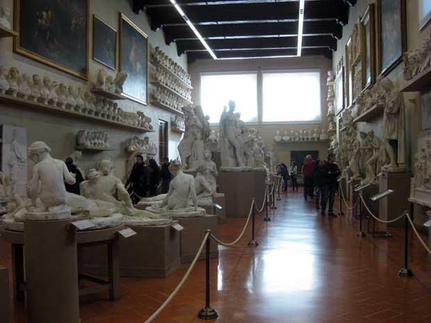 A Galleria dell'Accademia de Florença