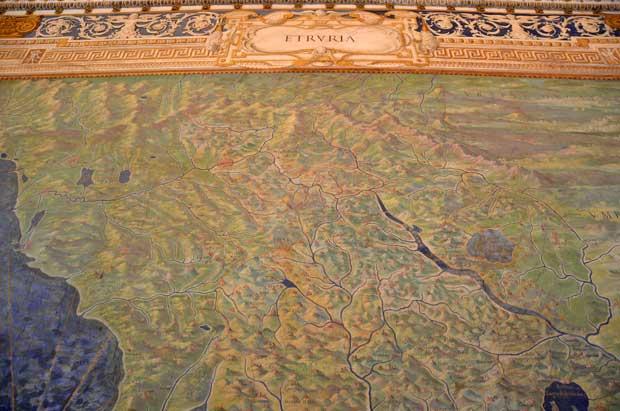 """A """"Etruria"""" de outros tempos corresponde praticamente a atual """"Toscana"""""""