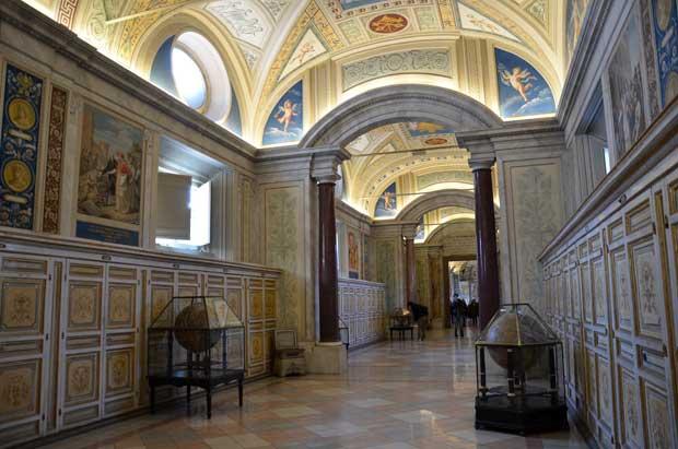 A beleza dos museus do Vaticano