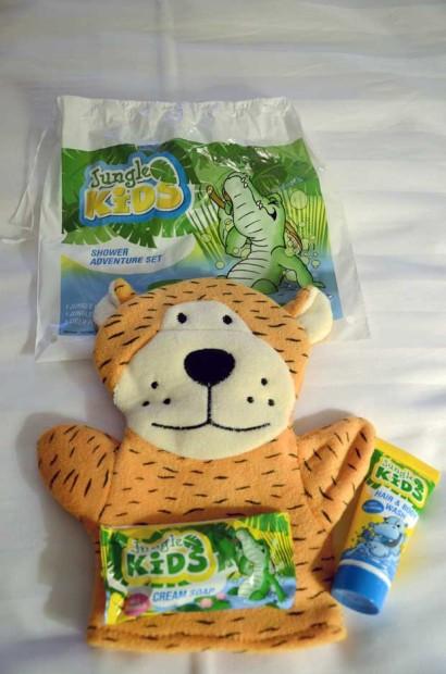 O Kit para crianças