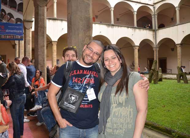 O Fabio e a Luciana