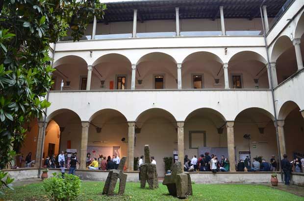 A biblioteca Oblate de Florença, um dos lugares onde aconteceu WineTown