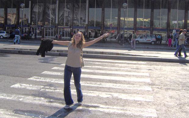 Minha primeira vez em Roma foi em 2005: a felicidade ao sair da estação de trem...