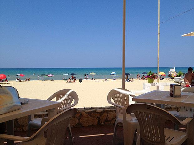 Cafè Darsena: um lugar simples, barato e gostoso em Castellammare del Golfo