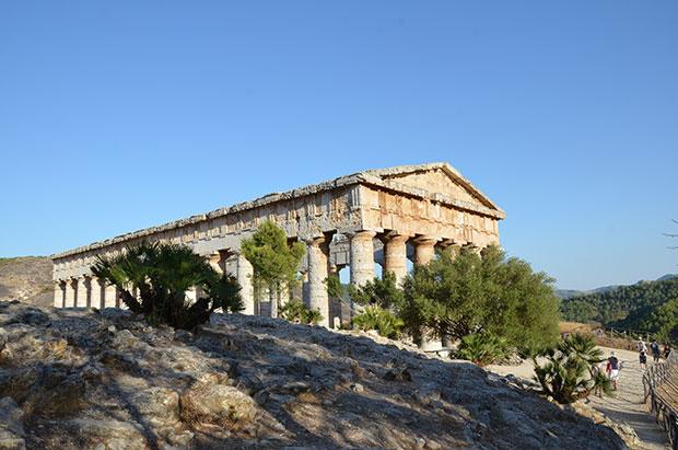 O templo de Segesta: um dos mais interessantes e bem conservados da Sicília