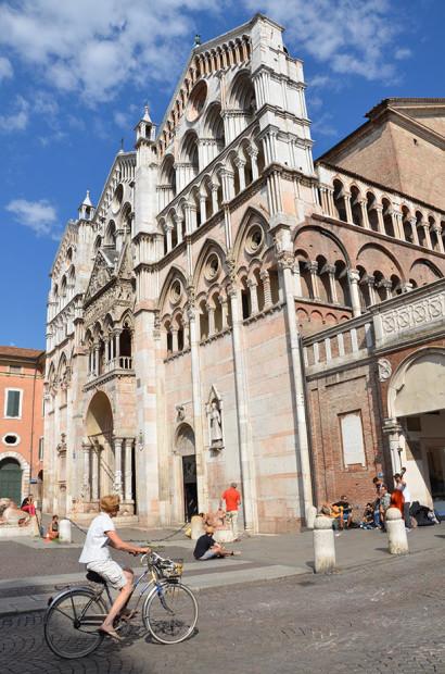A catedral de Ferrara