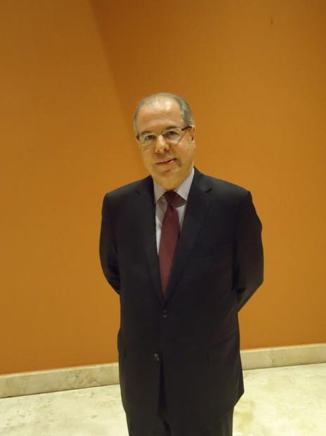 O Embaixador do Brasil em Roma, Ricardo Neiva Tavares