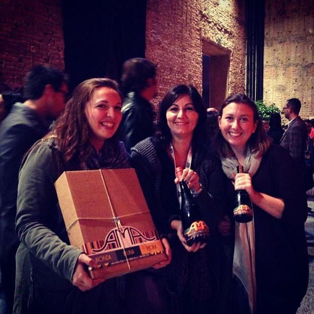 Chiara Regazzini, Silvia Badriotto e Federica Piersimoni