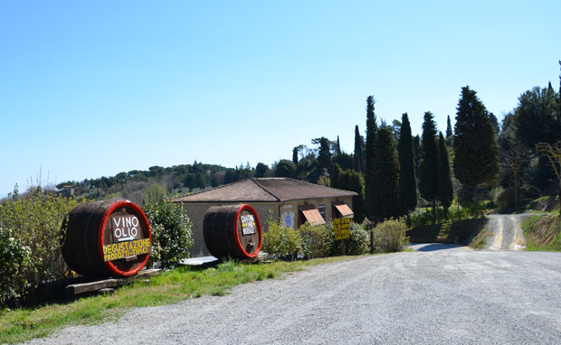Nos arredores de Montepulciano, Toscana