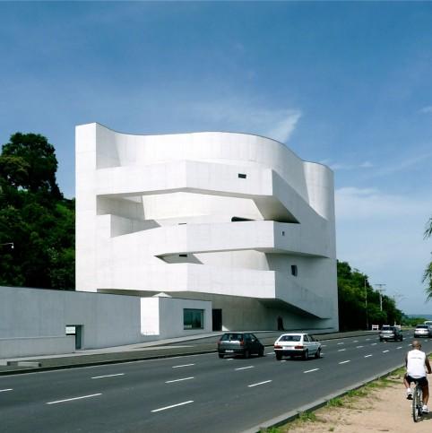 A Fundação Iberê Camargo, em Porto Alegre