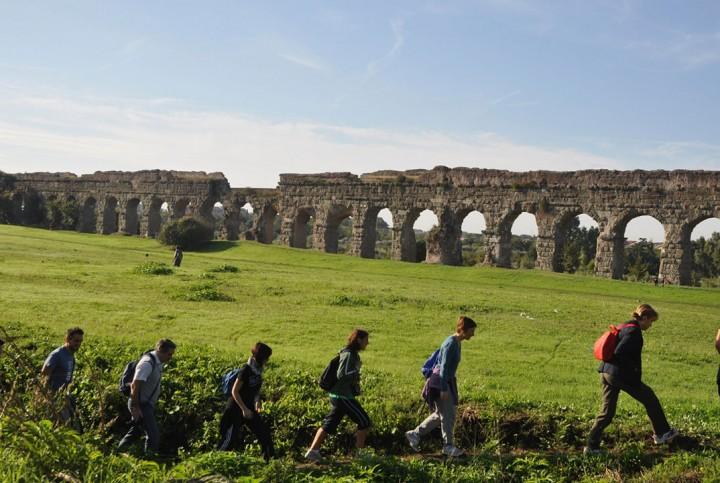 O percurso Appia Antica em Roma