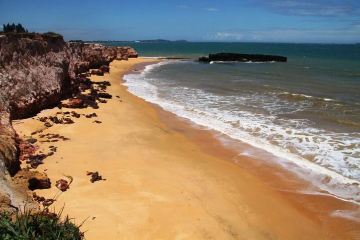 praia de Meaípe, no Espírito Santo, Brasil