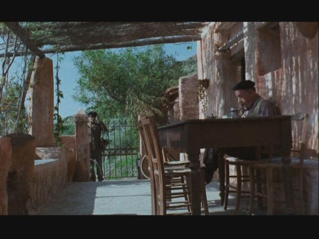 """Cena do filme """"O carteiro e O Poeta"""""""