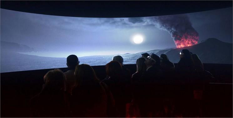 No MAV você pode assistir a erupção do Vesuvio de 79 d.C