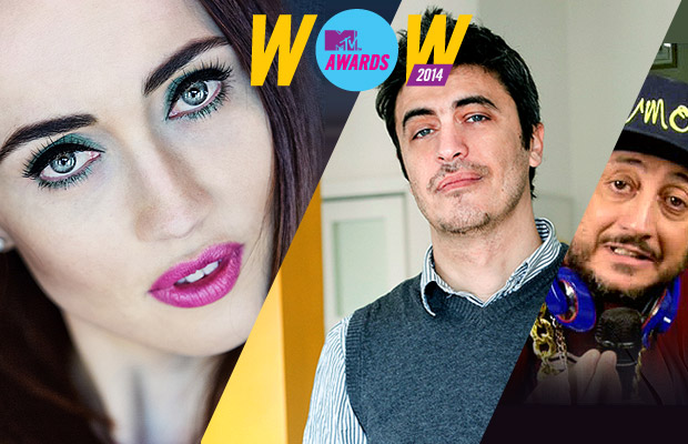 Chiara Francini, Pif e Alessandro Betti: os apresentadores do MTV Awards 2014