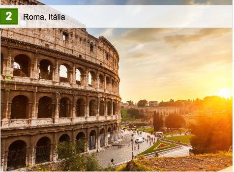 Roma: um dos melhores destinos do mundo