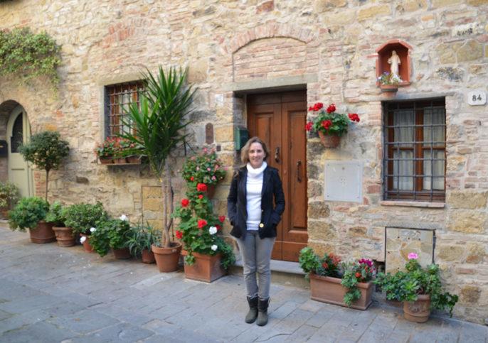 De volta a San Donato in Poggio no outono