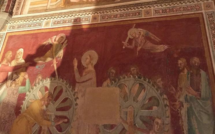 O martírio de S. Catarina de Alexandria