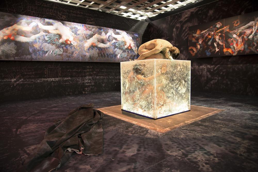 Imagem da Bienal 2013: Beat Kuert - Et Sic In Infinitum, Site-specific installation and performance
