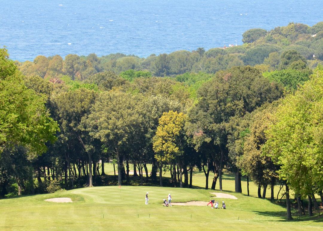 Golf Club Punta Ala na Maremma Toscana