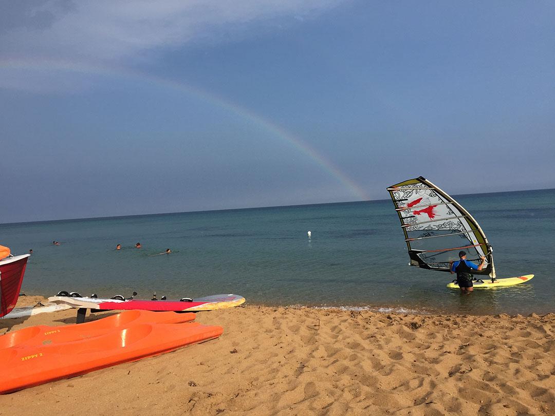 E depois da tempestade, veio o arco-íris
