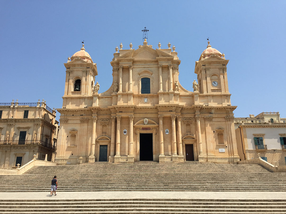 A catedral de Noto