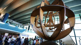 Aeroporto Roma - Leonardo da Vinci - em Fiumicino