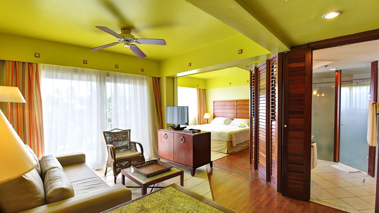 Os quartos são iguaizinhos aos da foto do site oficial do Sauípe Premium