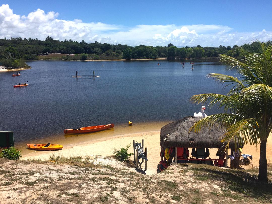 Sauípe Náutica: esportes aquáticos na lagoa