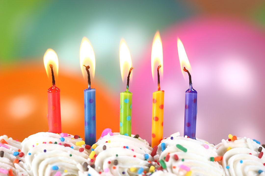 Mensagem de aniversário especial - Velas
