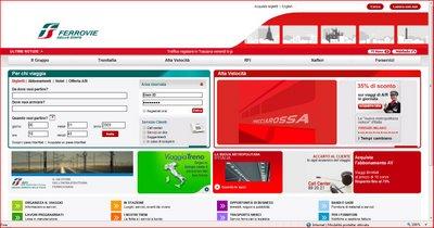 Como entender o site da Trenitalia / Ferrovie dello Stato